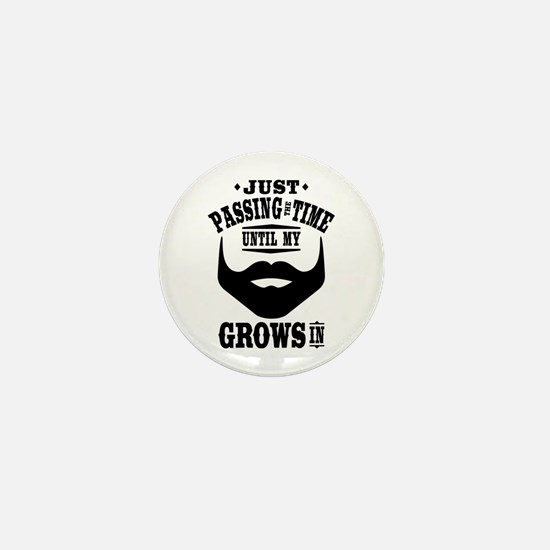 Funny Beard Mini Button