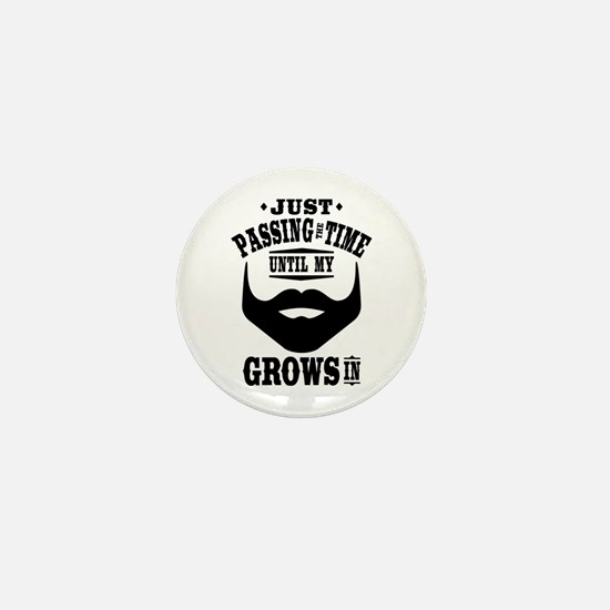 Funny Beard Mini Button (10 pack)