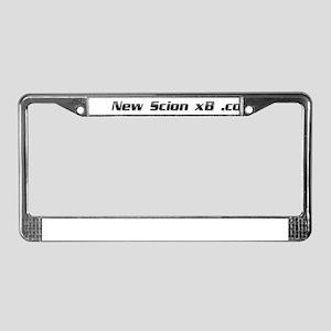 NewScionxB.com URL License Plate Frame