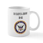 USS CLARENCE K. BRONSON Mug