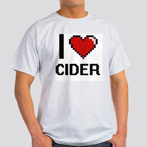 I love Cider Digitial Design T-Shirt