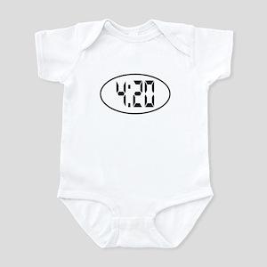 4:20 Digital Infant Bodysuit