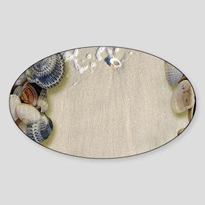 summer ocean beach seashell Sticker