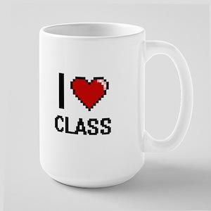 I love Class Digitial Design Mugs