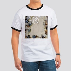 summer ocean beach seashells T-Shirt