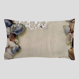summer ocean beach seashells Pillow Case