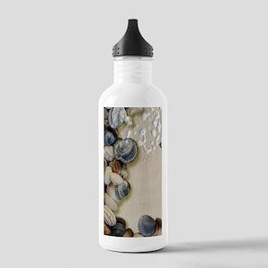 summer ocean beach sea Stainless Water Bottle 1.0L
