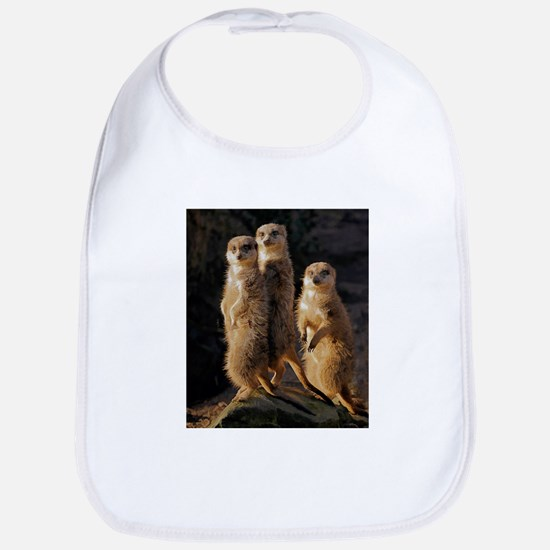 Sun Setting on the Meerkat Trio Bib