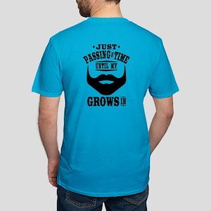 Funny Beard Men's Fitted T-Shirt (dark)