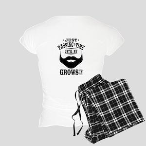 Funny Beard Women's Light Pajamas