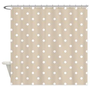 Polka Dot Shower Curtains