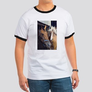 Horsing Around in the Stable T-Shirt