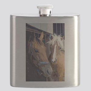Horsing Around in the Stable Flask
