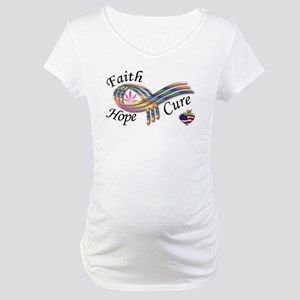 There's Hope For a Cure Maternity T-Shirt