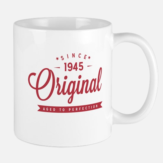 Since 1945 Original Aged To Perfection Mugs