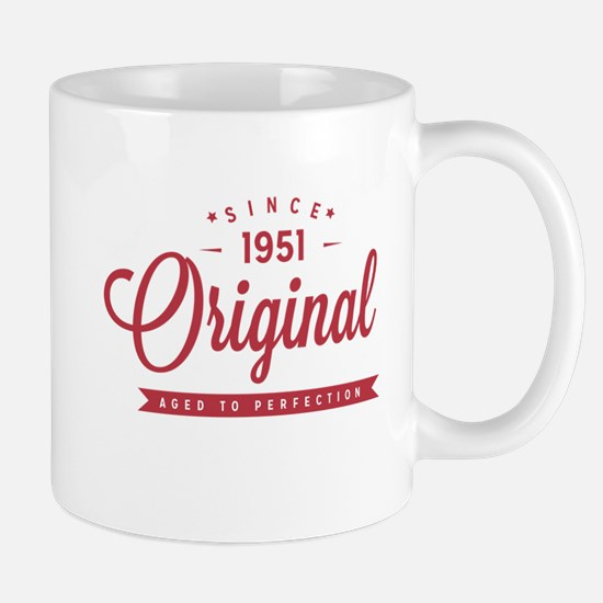 Since 1951 Original Aged To Perfection Mugs