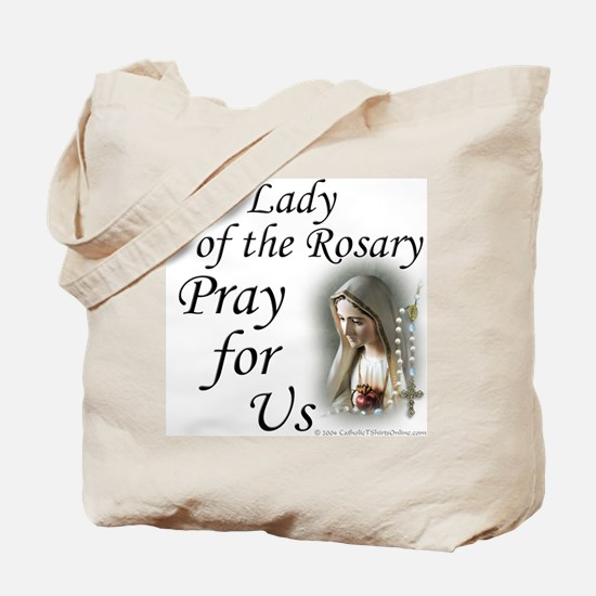 Our Lady of the Rosary (2) Tote Bag