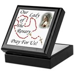 Our Lady of the Rosary Keepsake Box