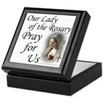 Our Lady of the Rosary (2) Keepsake Box