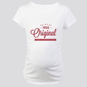 Since 1956 Original Aged To Perfection Maternity T