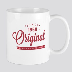 Since 1958 Original Aged To Perfection Mugs