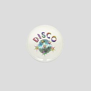 Shiny Disco Ball Mini Button