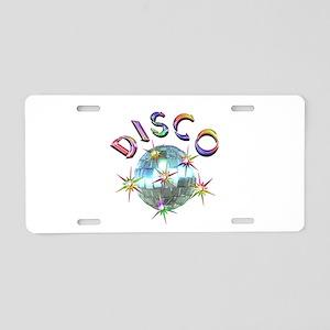 Shiny Disco Ball Aluminum License Plate