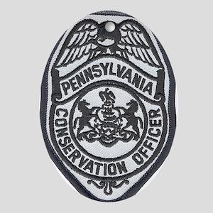 Pennsylvania Game Warden Oval Ornament