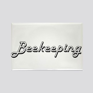 Beekeeping Classic Retro Design Magnets