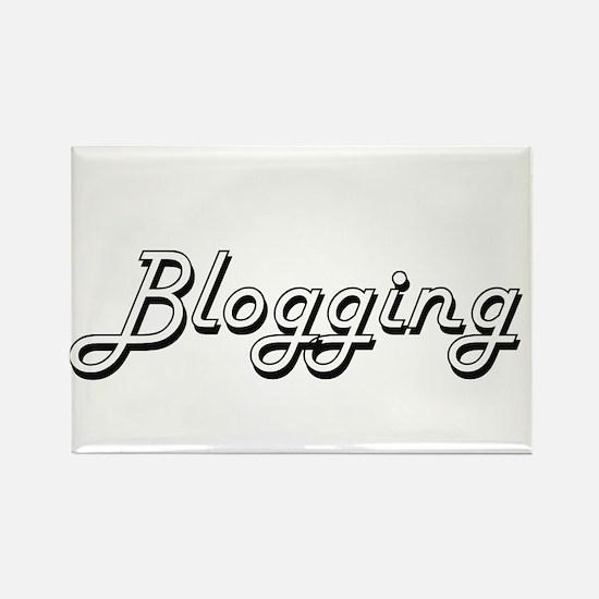 Blogging Classic Retro Design Magnets