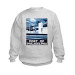 Port Of Philadelphia Kids Sweatshirt