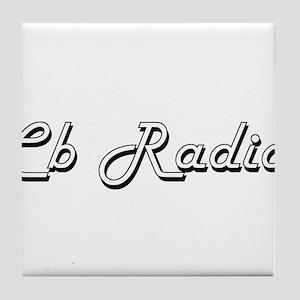 Cb Radio Classic Retro Design Tile Coaster