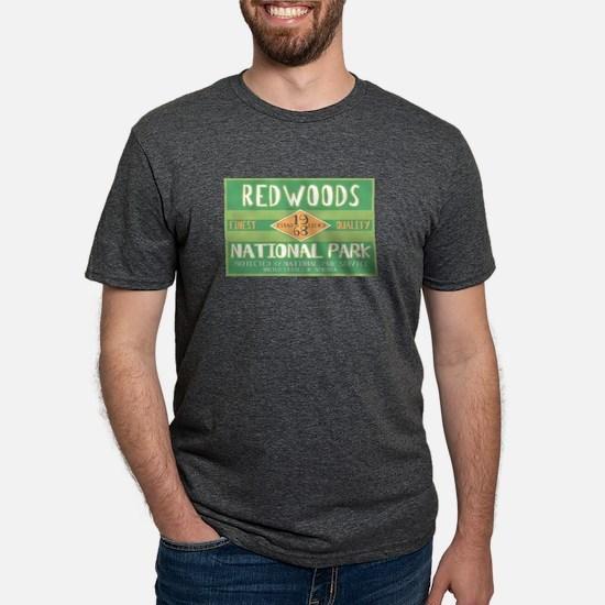 Redwoods National Park (Retro) T-Shirt