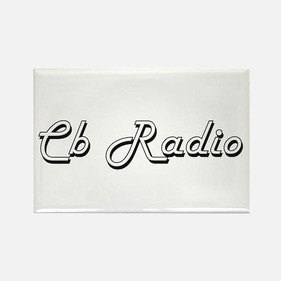 Cb Radio Classic Retro Design Magnets