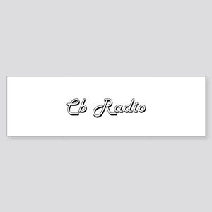 Cb Radio Classic Retro Design Bumper Sticker