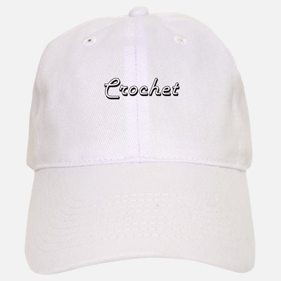 Crochet Classic Retro Design Baseball Baseball Cap