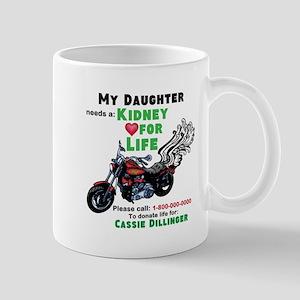 personalize/donor Mug