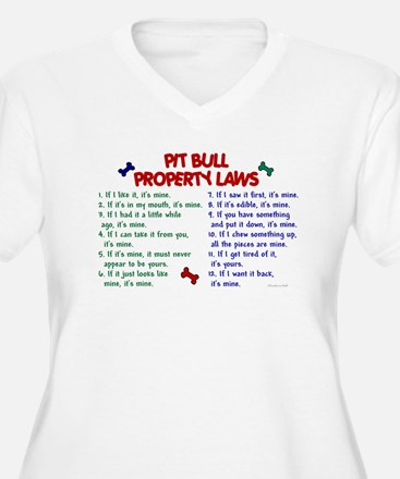 Pit Bull Property Laws T-Shirt