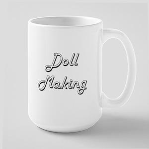 Doll Making Classic Retro Design Mugs
