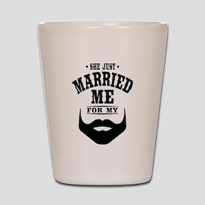 Married Beard Shot Glass