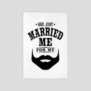 Married Beard 4' x 6' Rug