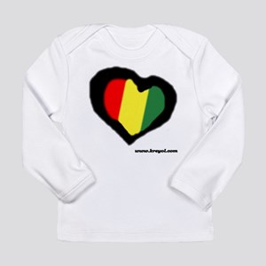Rasta Heart Long Sleeve T-Shirt