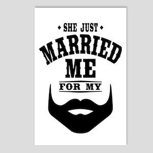 Married Beard Postcards (Package of 8)