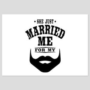 Married Beard 5x7 Flat Cards
