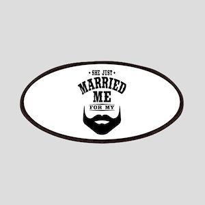 Married Beard Patch