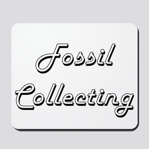 Fossil Collecting Classic Retro Design Mousepad