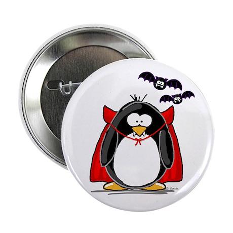 Dracula Penguin Button