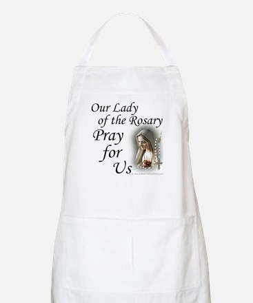 Our Lady of the Rosary (2) BBQ Apron