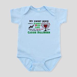Personalize, Kidney Donation Infant Bodysuit