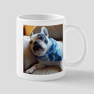 French Bulldog Pied Mugs